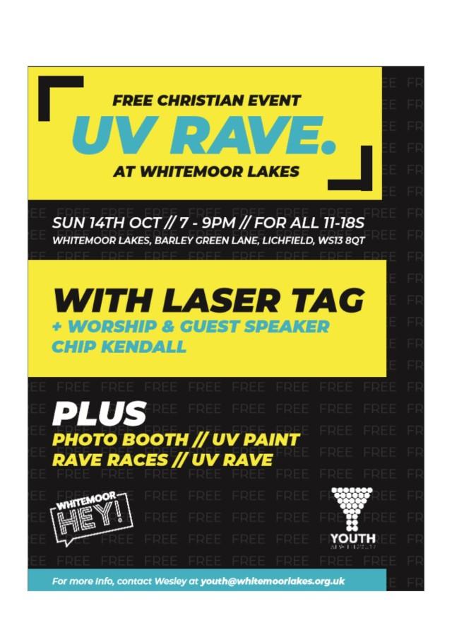 Whitemoorlakes Hey event 14.10.18