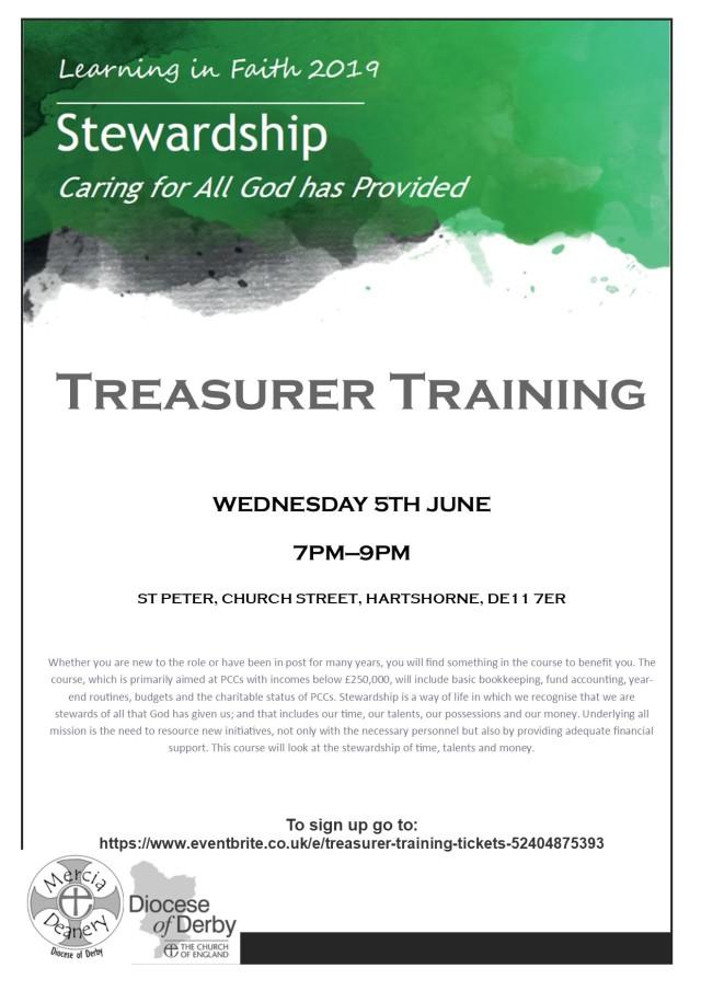 treasurer training '19