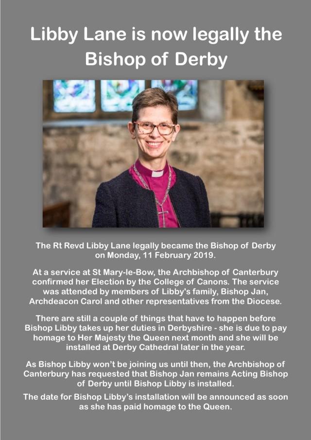 bishop Libby notice