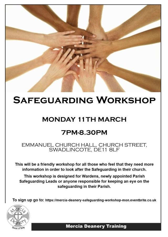 Safeguarding Workshop- 11.03.19 pm